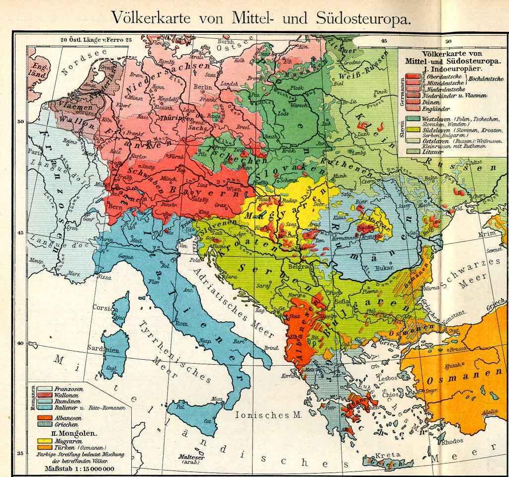 Ethnographic maps of Macedonia Brailsford Boue Safarik – South of Europe Map